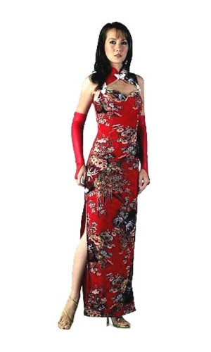Sexy Red Chinese Dress Asian Dresses