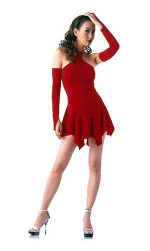Sexy Red Mini Dress Short Dresses