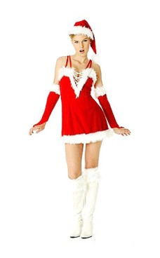 Sexy Santa Claus Dress Christmas Dresses