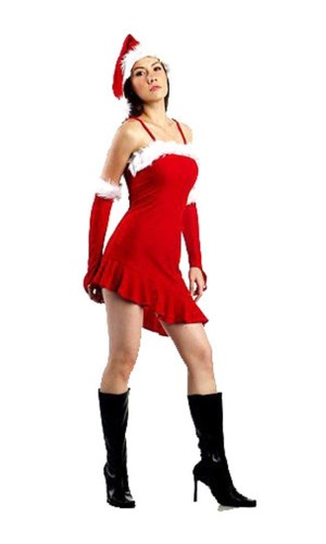 Sexy Santa Girl Dress Christmas Dresses