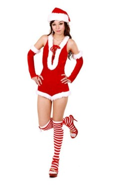 Sexy Santa Girl Romper Christmas Dresses