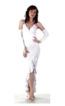 Sexy White Evening Dress Long Dresses