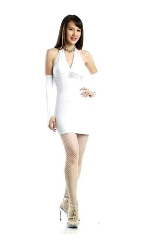Sexy White Mini Dress Short Dresses
