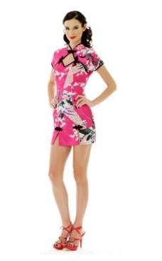 Short Pink Asia Dress Asian Dresses