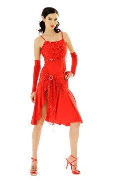 Short Red Salsa Dress Short Dresses