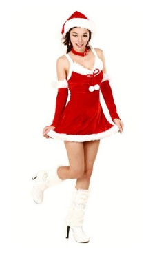 Short Santa Dress Christmas Dresses