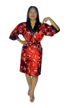 Silk Morning Robe Unisex Kimonos