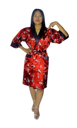 Silk Morning Robe Unisex Kimonos