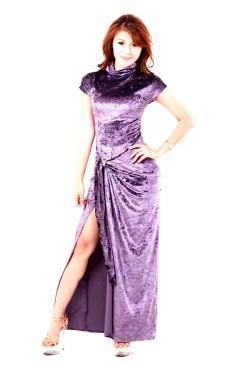 Stylish Lavender Blue Dress