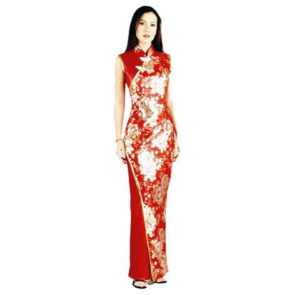 Stylish Red Asian Dress Dresses