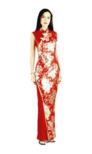 Stylish Red Asian Dress Asian Dresses