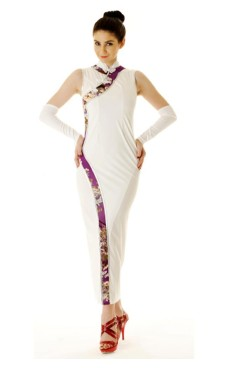 Stylish White Asian Dress Asian Dresses