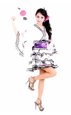 Tiered Style Kimono Kimono Dresses