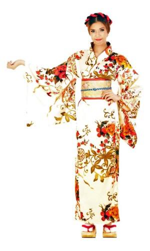 White Yukata Dress Kimono Dresses